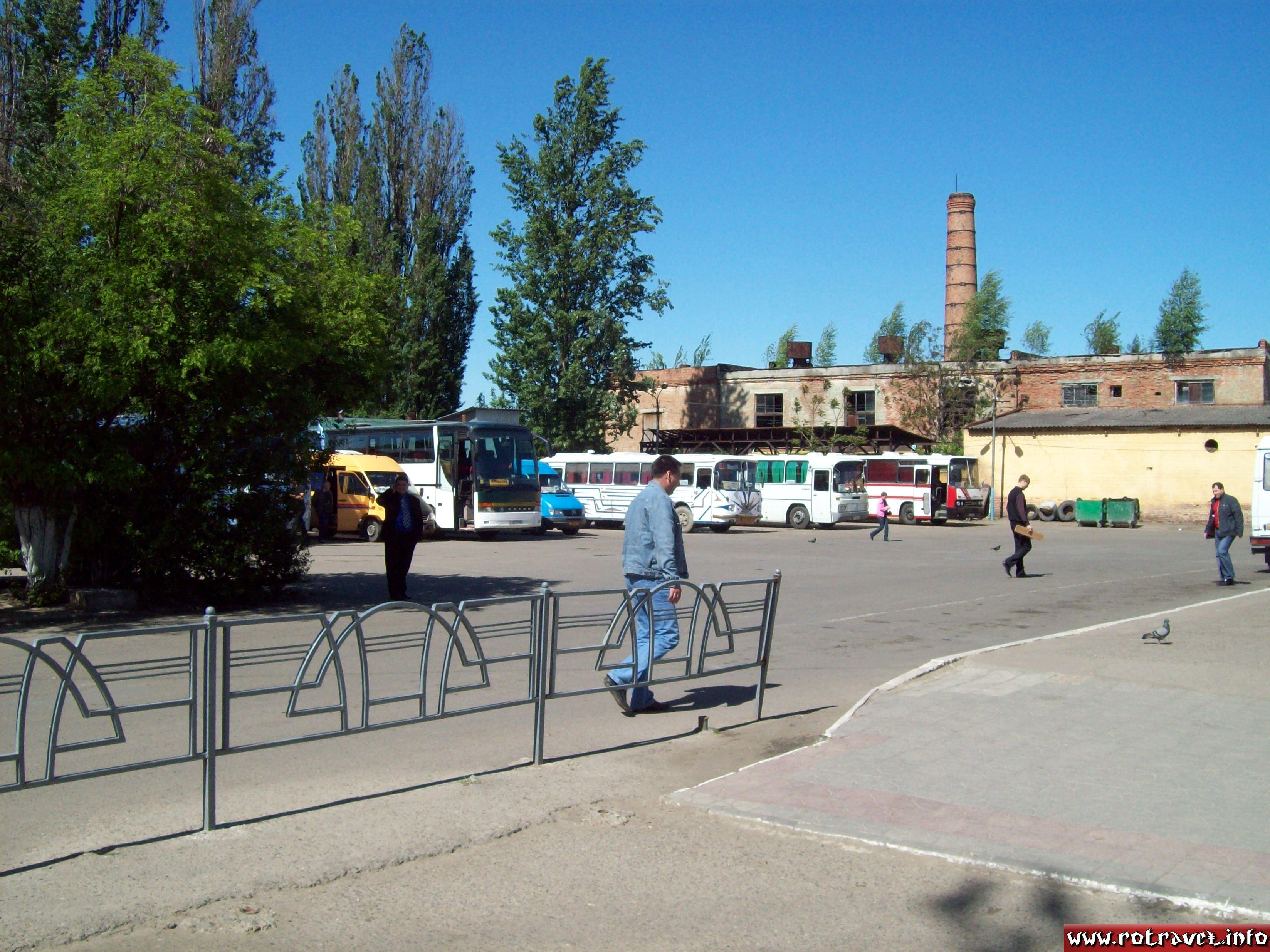 Old soviet bus station