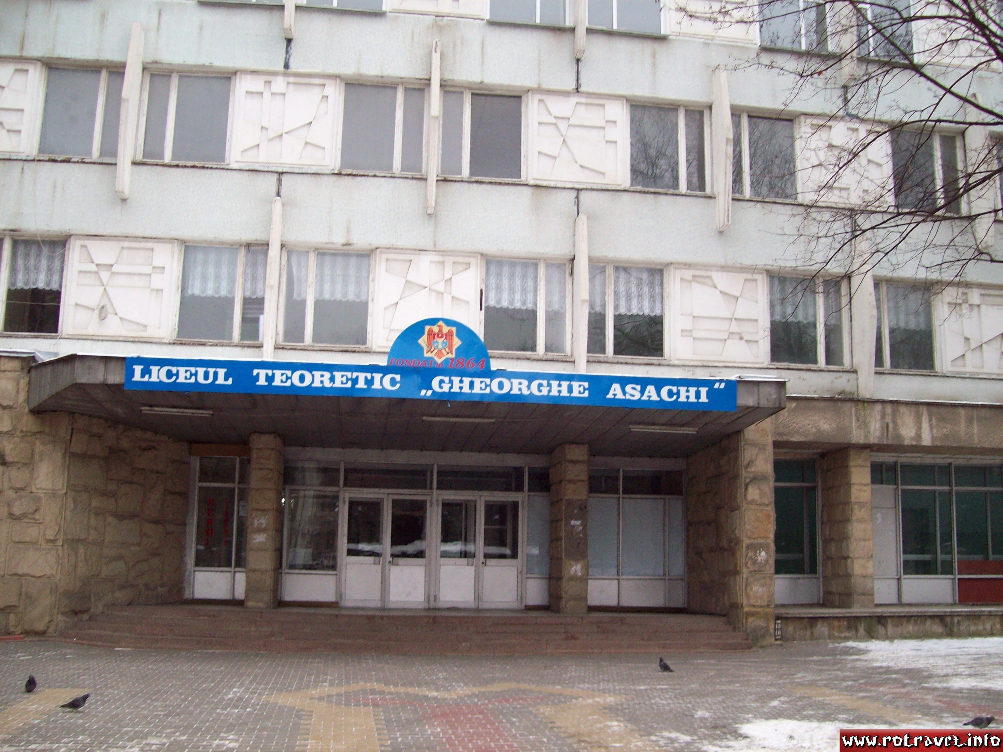 Theoretical High School (Lyceum) Gheorghe Asachi (The best from Moldova)