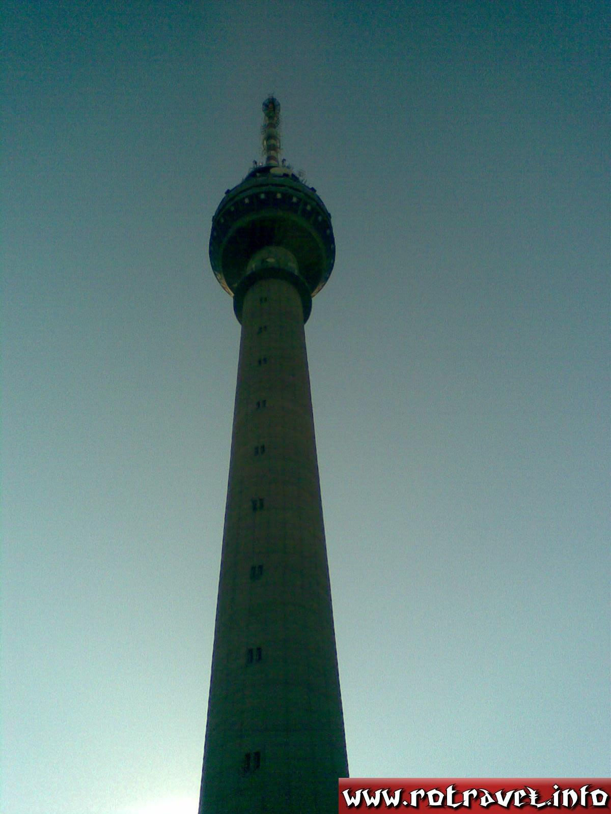 Other view of Rousse TV Tower