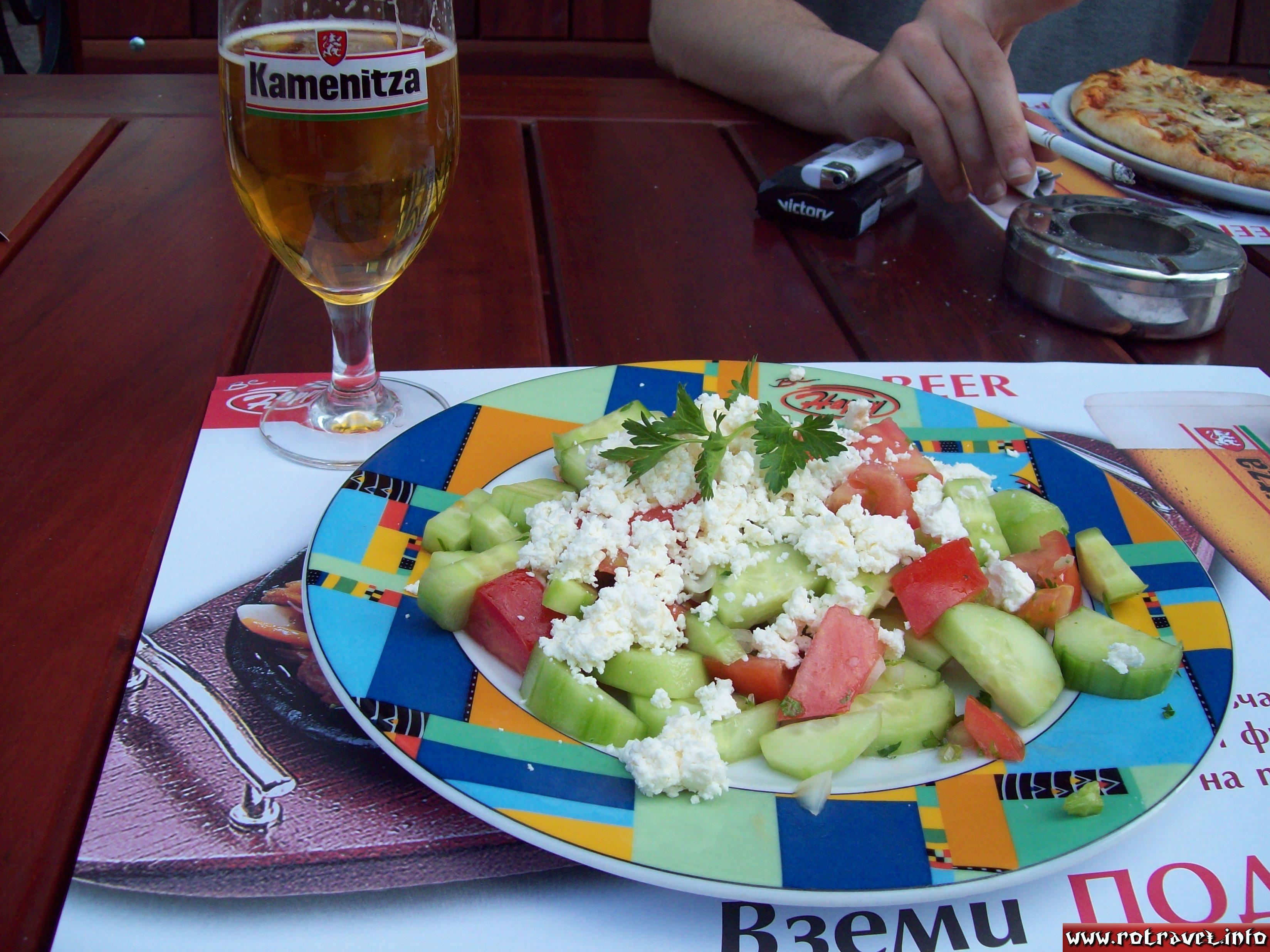 "Shopska salad or ""Bulgarian salad"" Шопска салата"