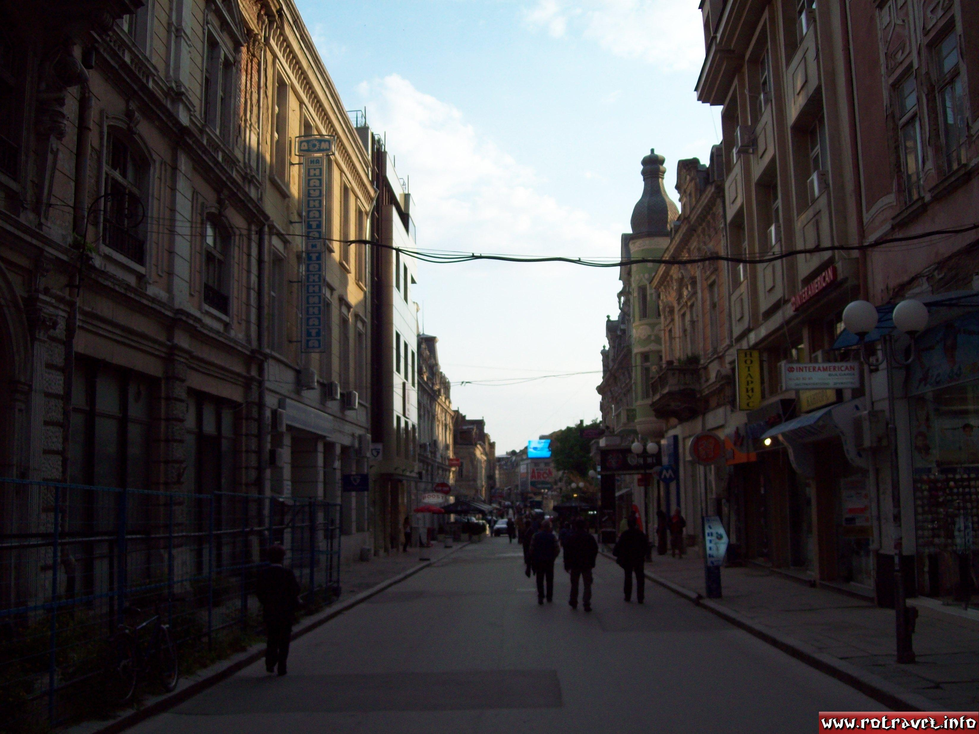 A nice street in the old centre