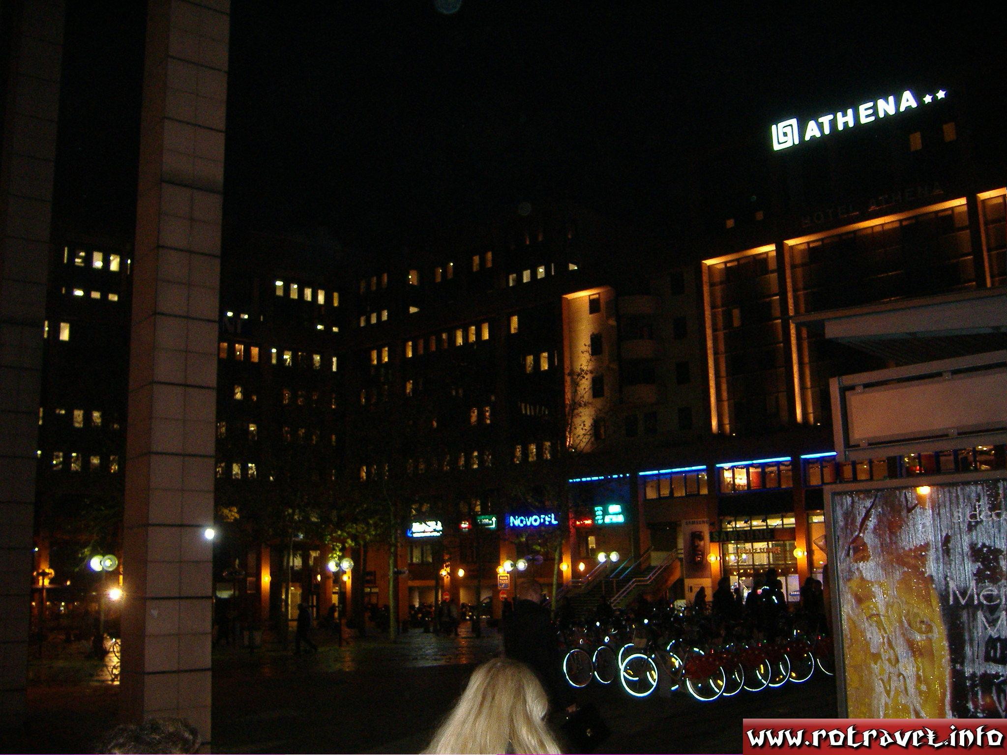 Near to the Athena Hotel