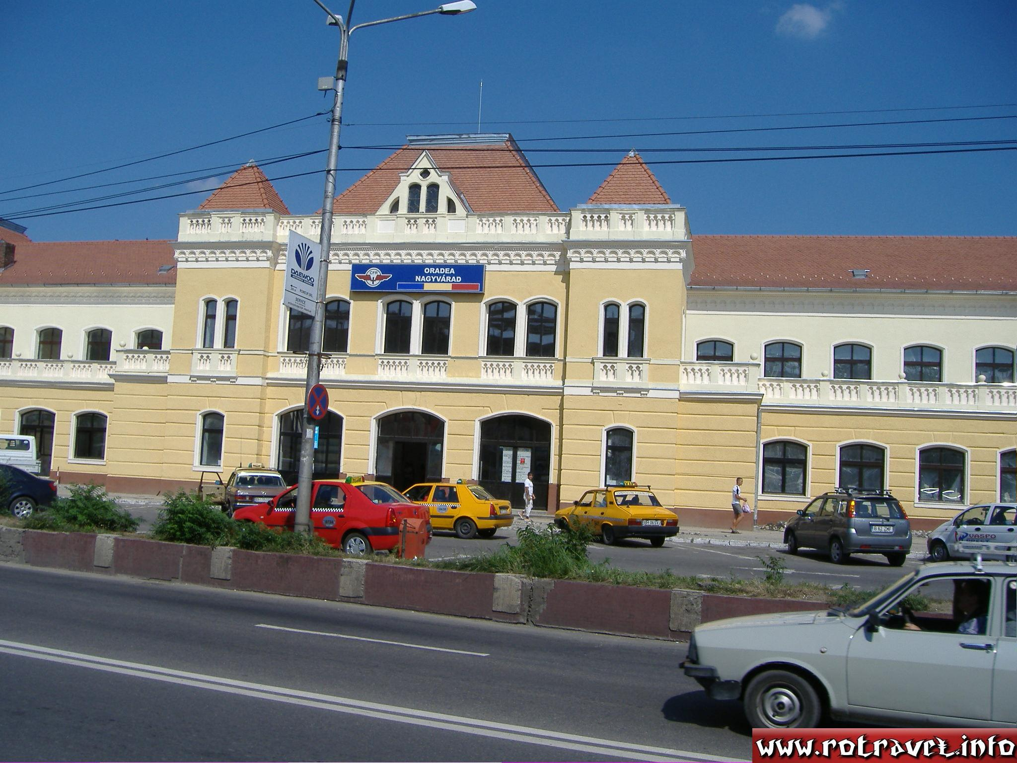 The Central Railway Station (Gara Centrală din Oradea )