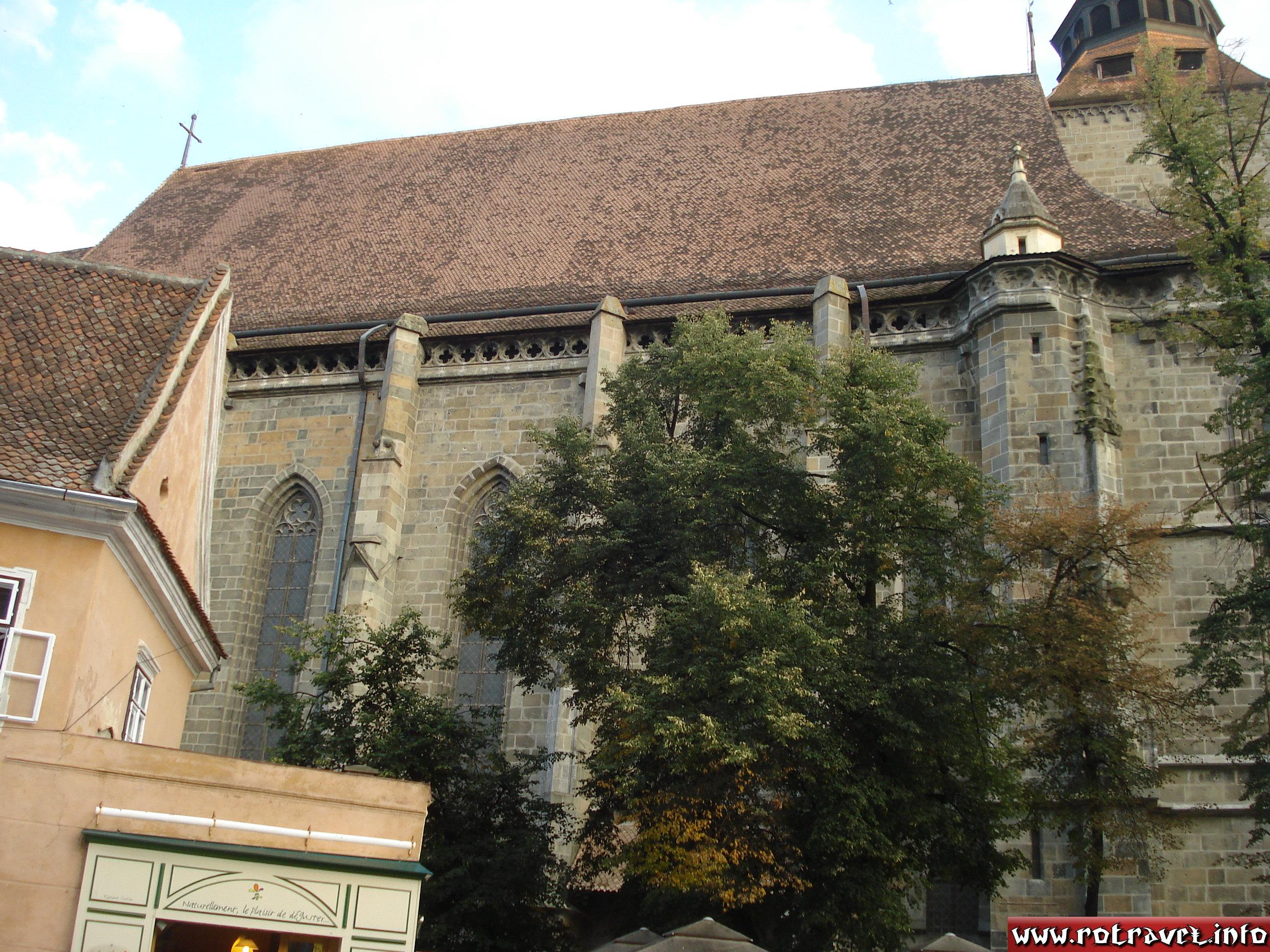 Biserica Neagră or Black Church (German: Schwarze Kirche; Romanian: Biserica Neagră; Hungarian: Fekete templom)