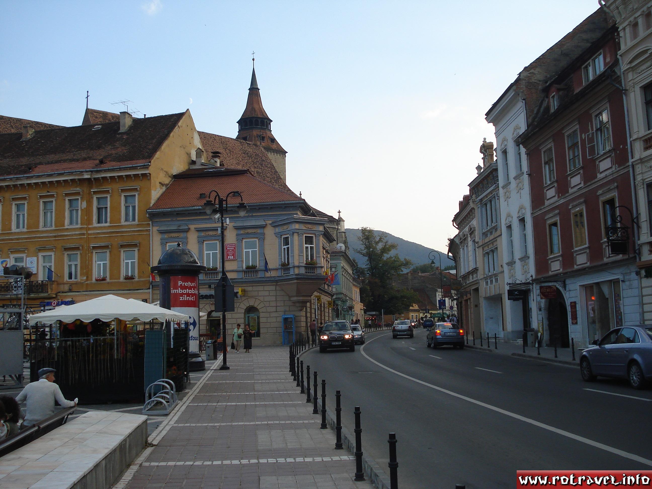 """Other photo from the Braşov Main Square """"Council Square"""" (Piaţa Sfatului)"""