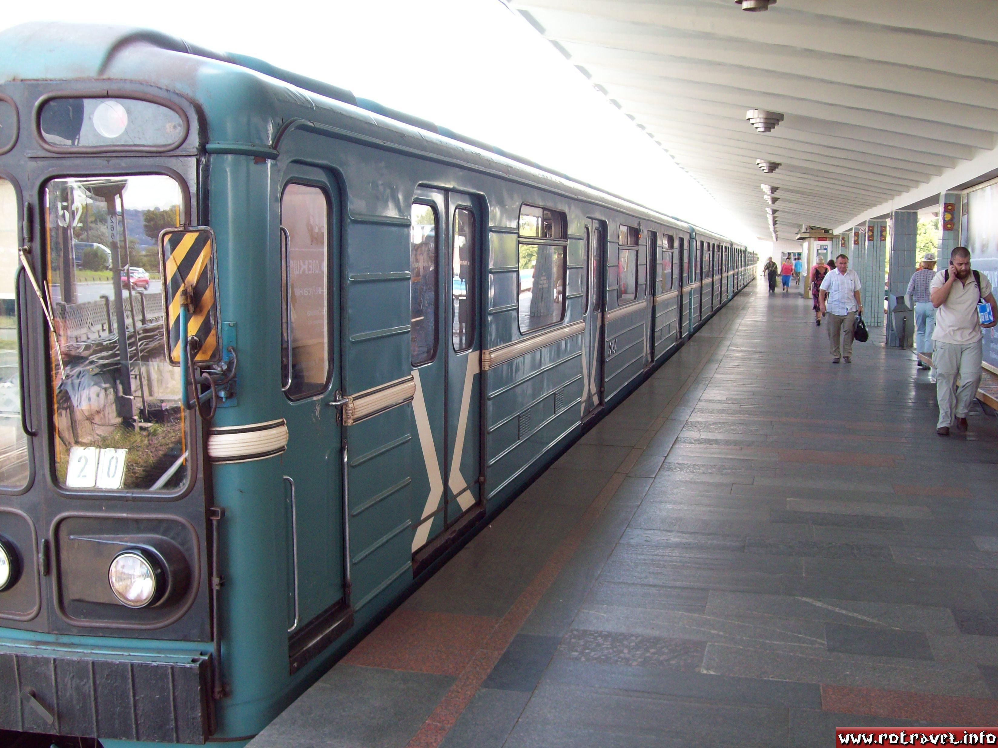 "Metrowagonmash subway train (Russian: ОАО ""Метровагонмаш"")"