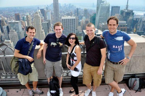 1. Mal Amerika, 1. Mal in New York - und direkt neue Leute kennengelernt