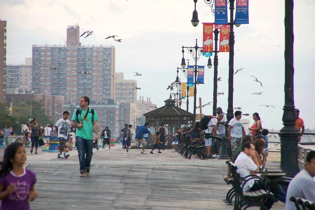 Boarwalk Coney Island