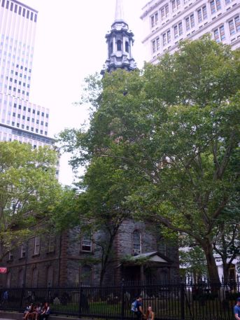 St. Pauls Chapel New York