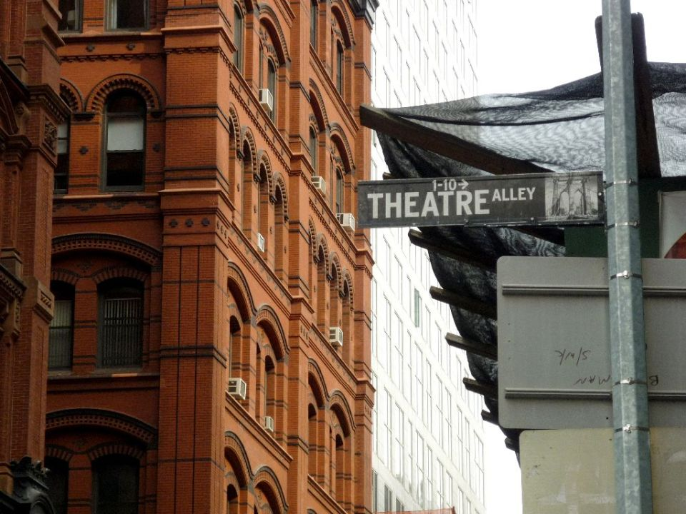 Theatre Alley New York