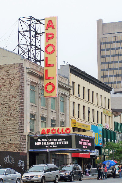 Apollo Theatre Harlem