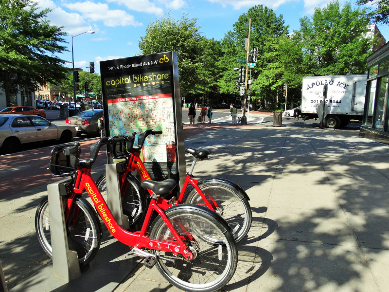 Capital Bikeshare Washington DC