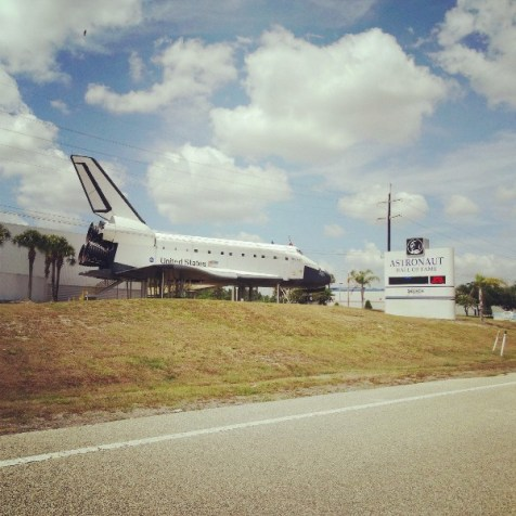 Astronaut Hall of Fame in Florida