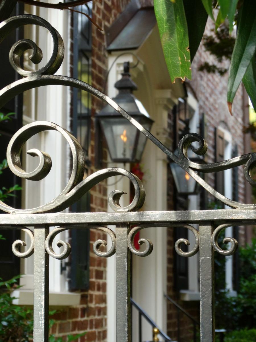 Hauseingang Charleston
