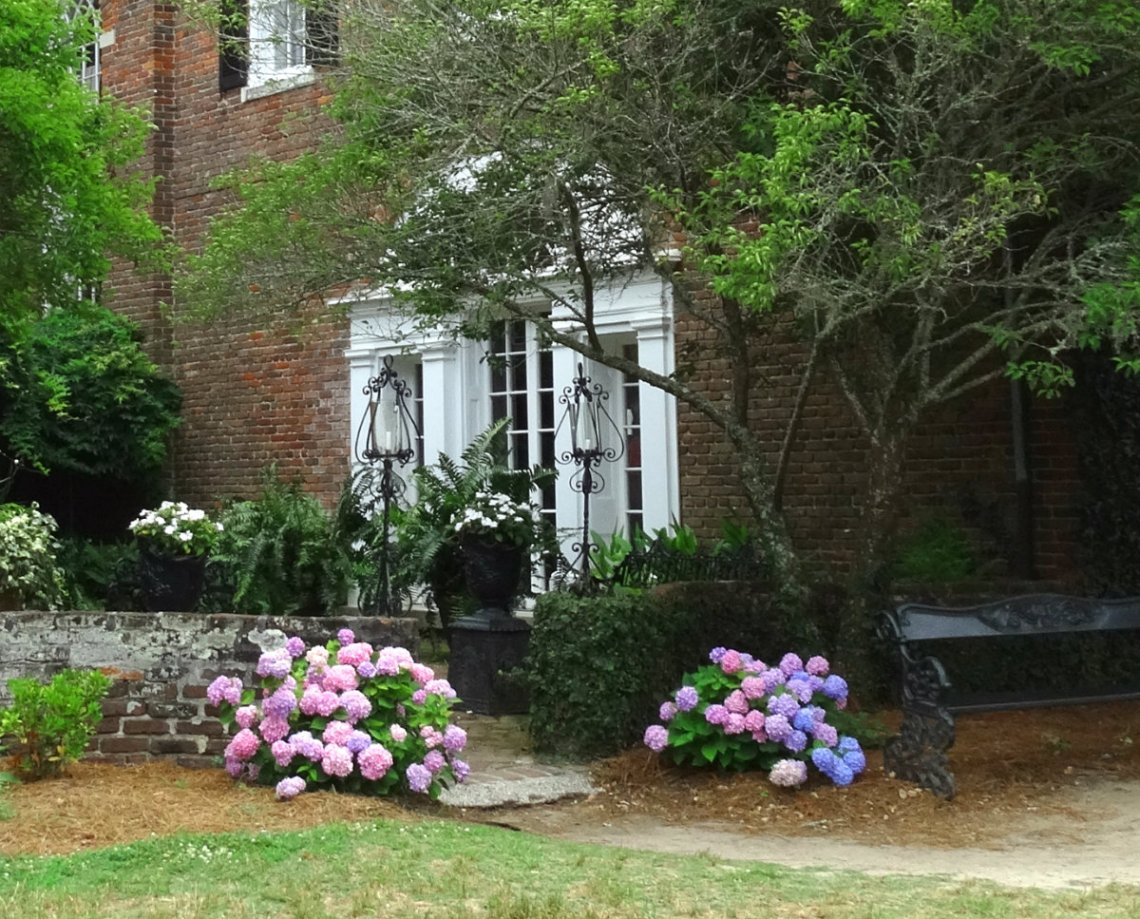 Boone Hall Plantation Backyard