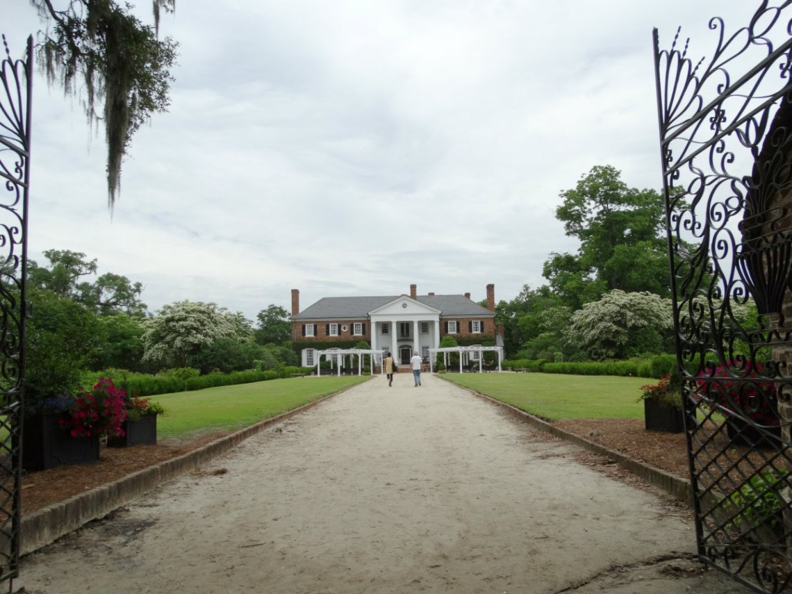 Boone Hall Plantation - Mont Royal - Fackeln im Sturm