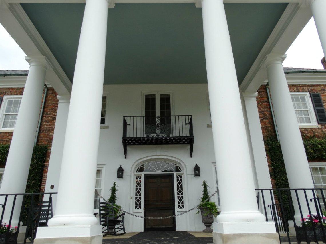 Boone Hall Plantation Herrenhaus - Fackeln im Sturm