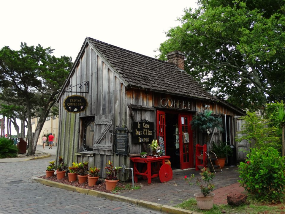 Tolles Café in St. Augustine