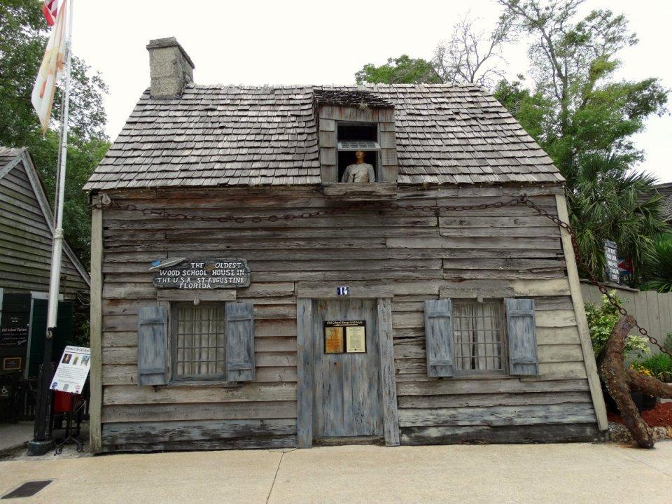Das älteste Holz-Schulhaus der USA