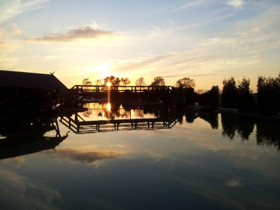 Sonnenuntergang Spreewald