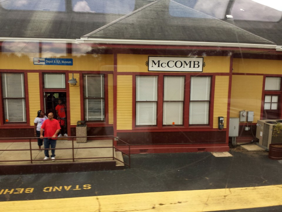 McComb Amtrak Station