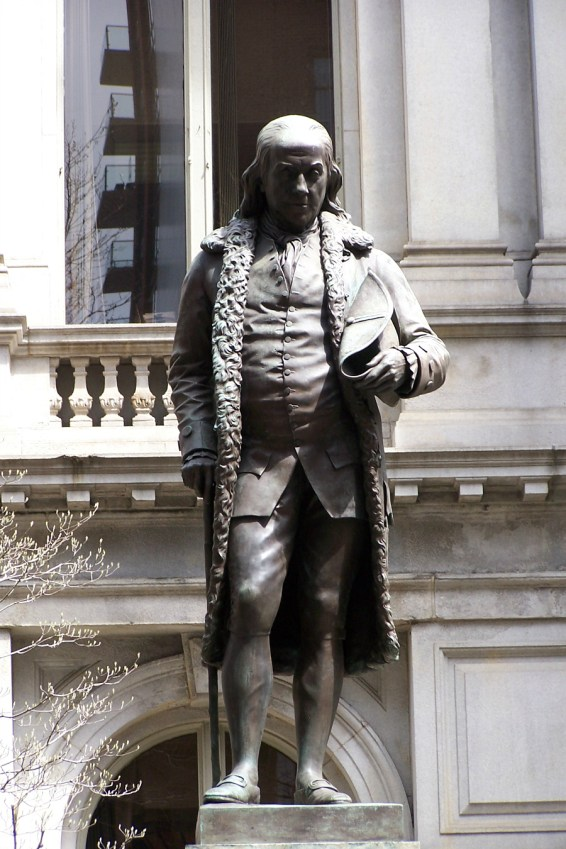 Statue of Benjamin Franklin
