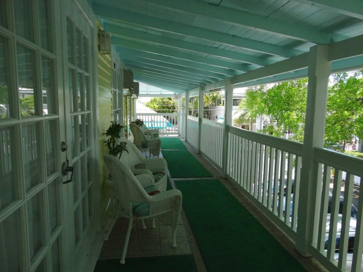 Duval Gardens veranda