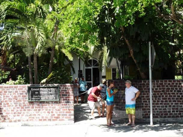 Ernest Hemnigway Haus Key West