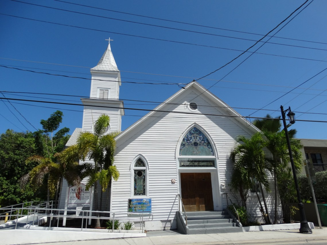 Kirche Truman Ave Key West