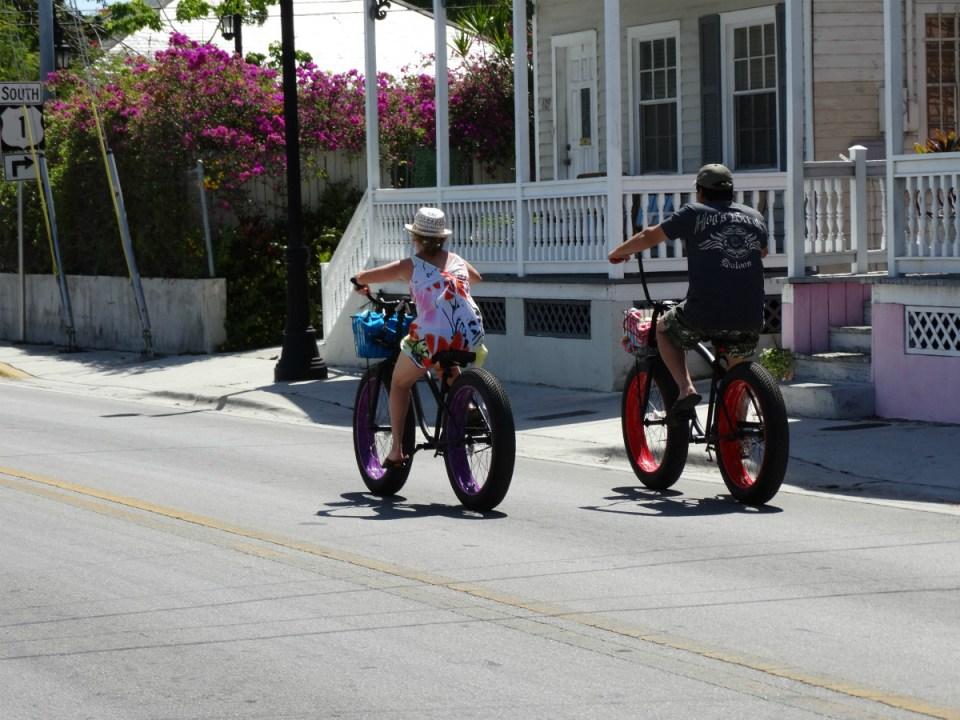 Mit dem Rad durch Key West