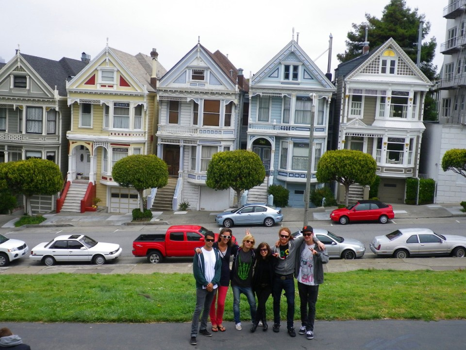 Alamo Square in SF