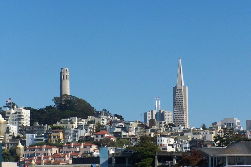 Blick auf Coit Tower
