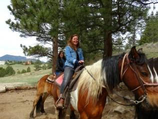 Durch die Rockies reiten