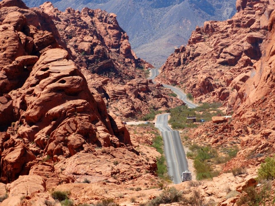 Valley of Fire Scenic Road