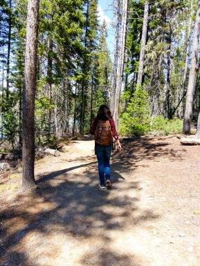 spring lake hike grand teton
