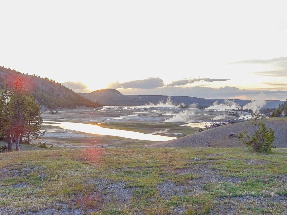 Midway Geyser basin Yellowstone Nationalpark
