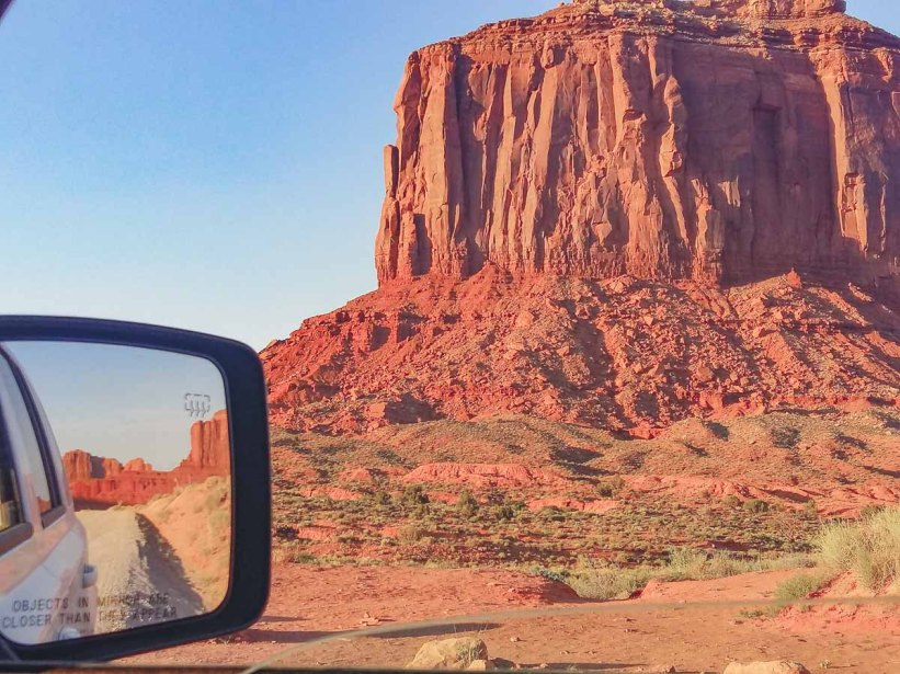 17 Mile Drive Monument valley