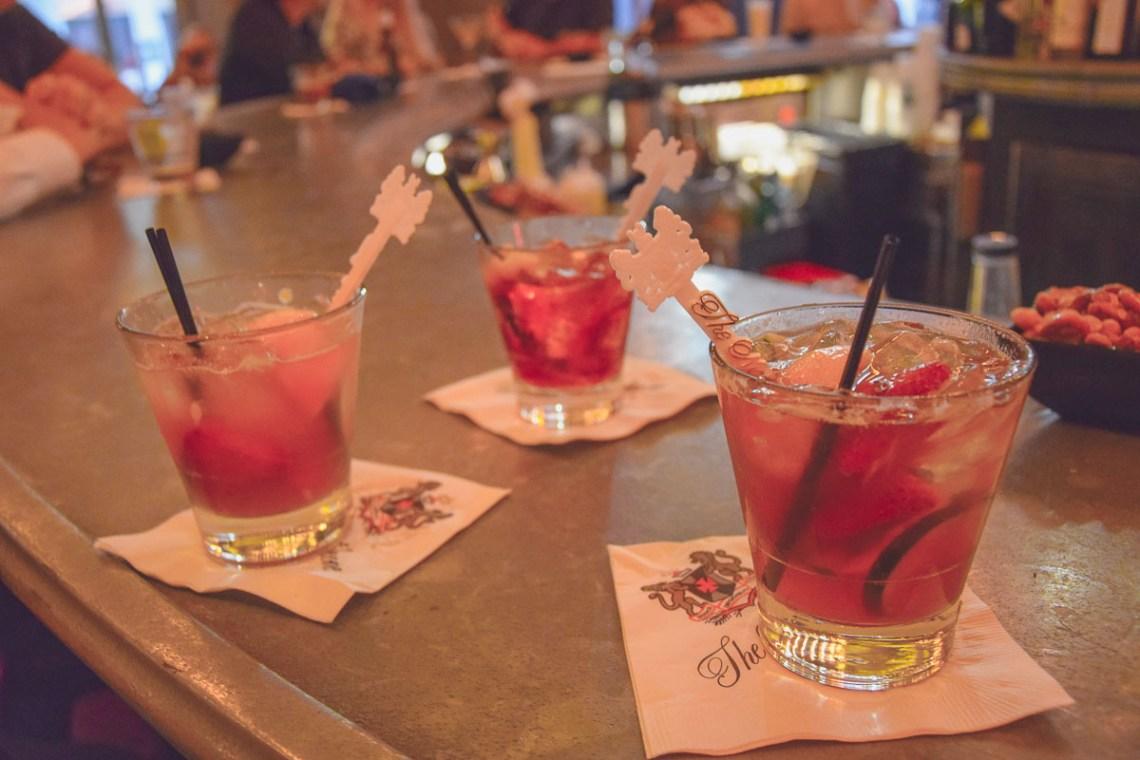 Auf Cocktail-Tour durch das French Quarter - hier in der Carousel Bar