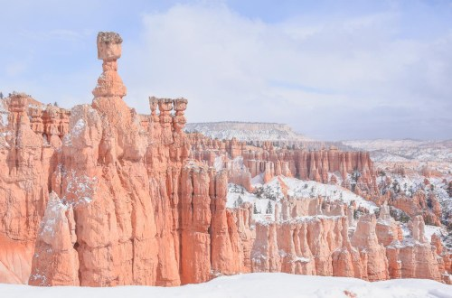 thors hammer bryce canyon winter