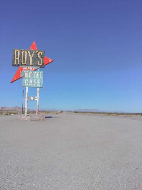 Route 66 Roy's Cafe in Amboy