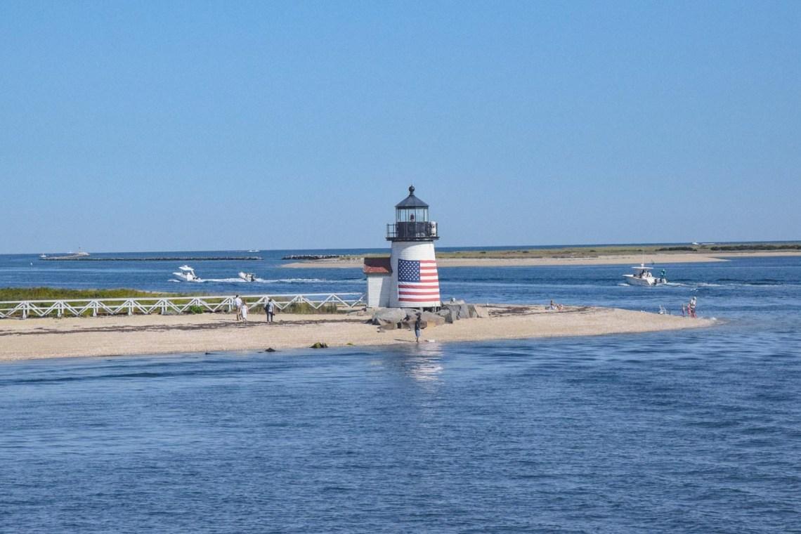 Brant Point Leichtturm auf Nantucket