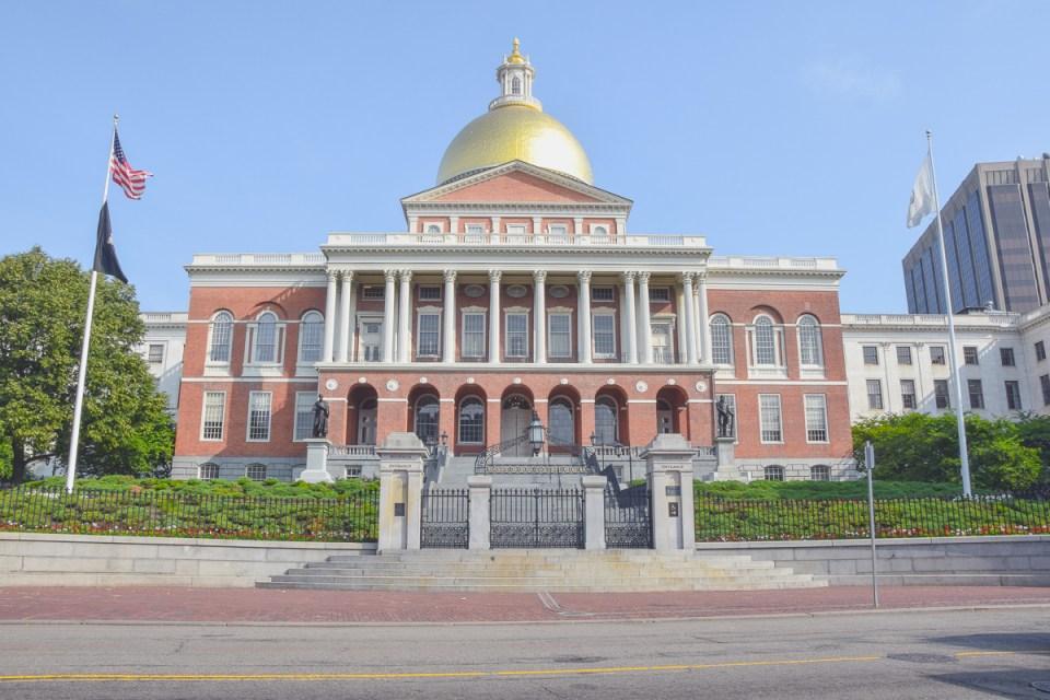 Das State Capitol von Massachusetts