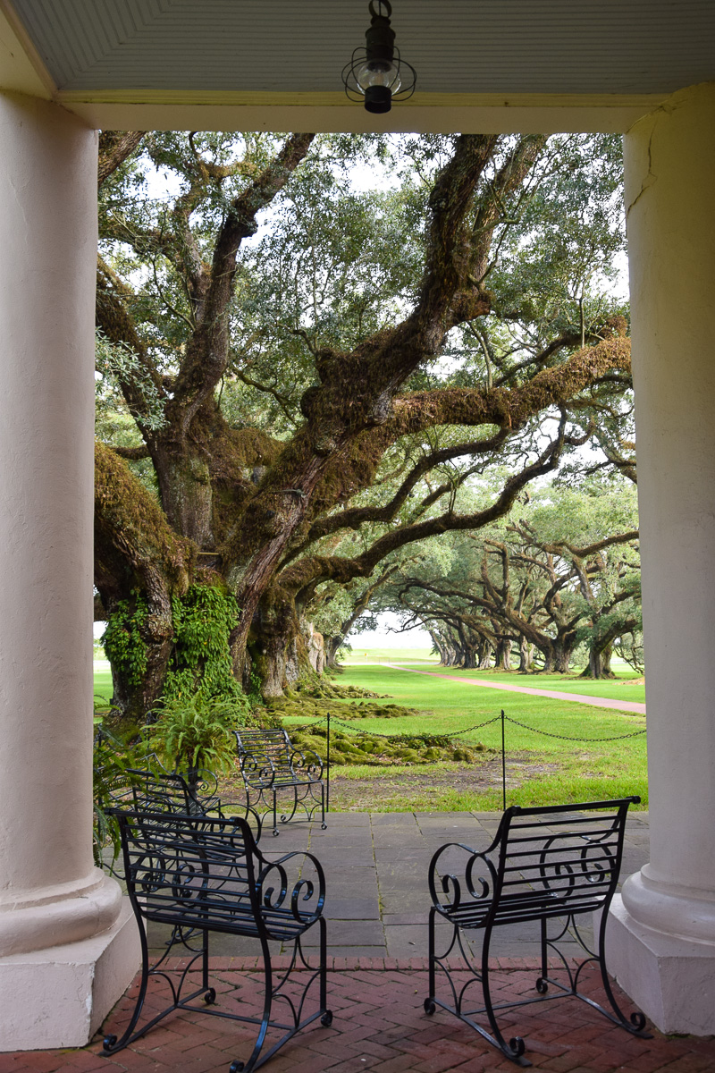 Übernachten Oak Alley Plantation