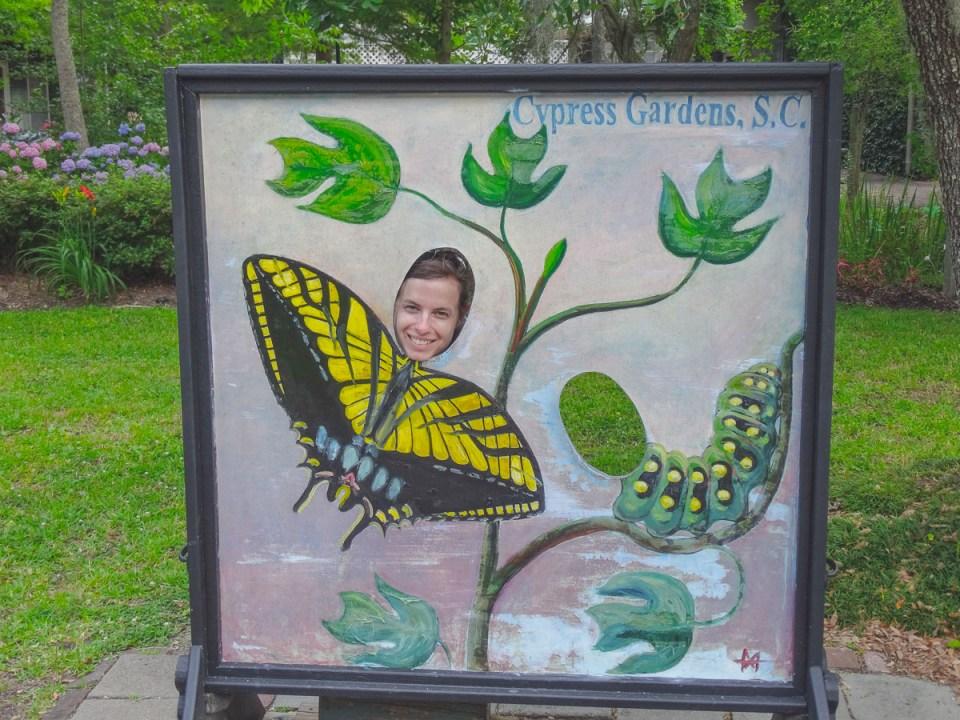 Cypress Gardens Schild am Eingang