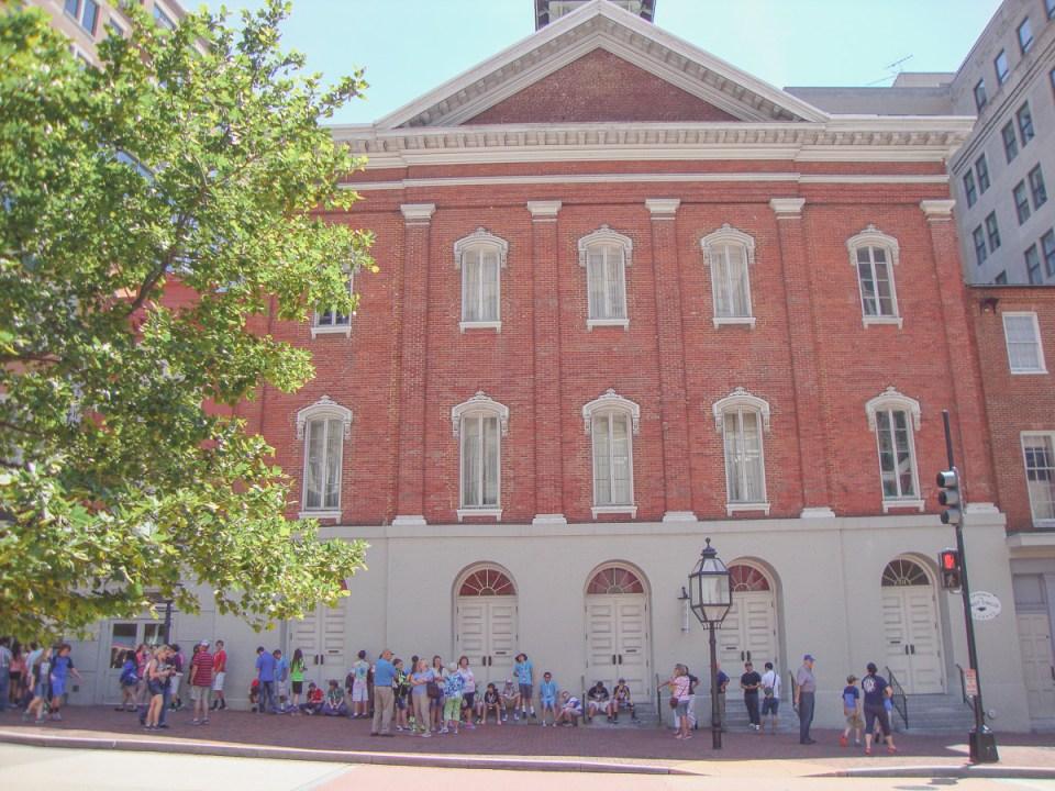 Ford's Theatre: Hier fand das Attentat auf Präsident Abraham Lincoln statt