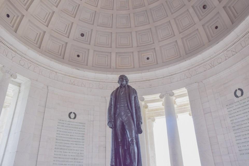 Thomas Jefferson, dritter Präsident der USA und Verfasser der Unabhängigkeitserklärung