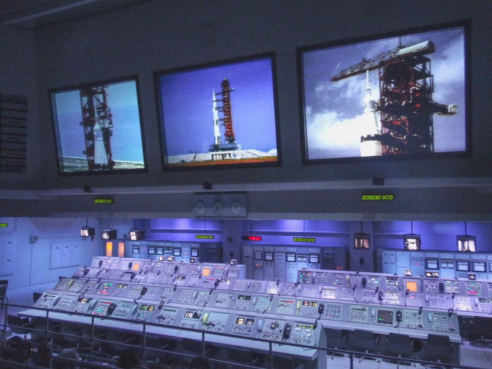 Mission Control Kennedy Space Center
