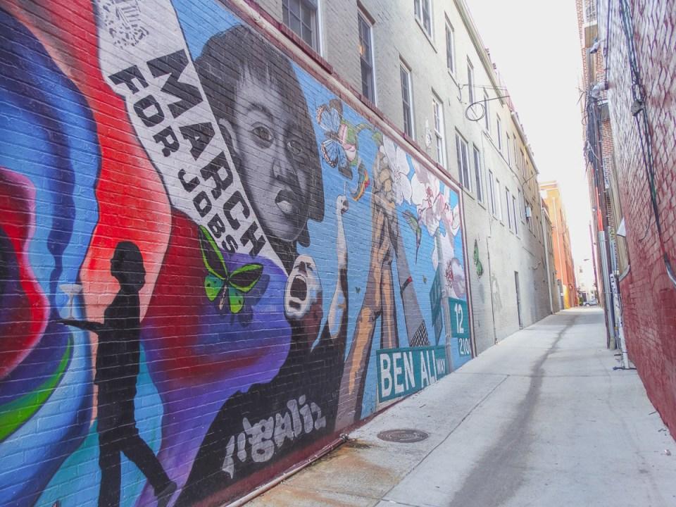 Street Art in den Gassen der U-Street
