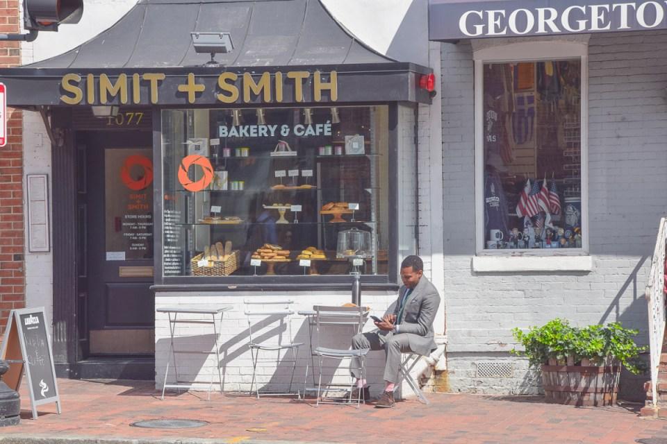 Café in Georgetown