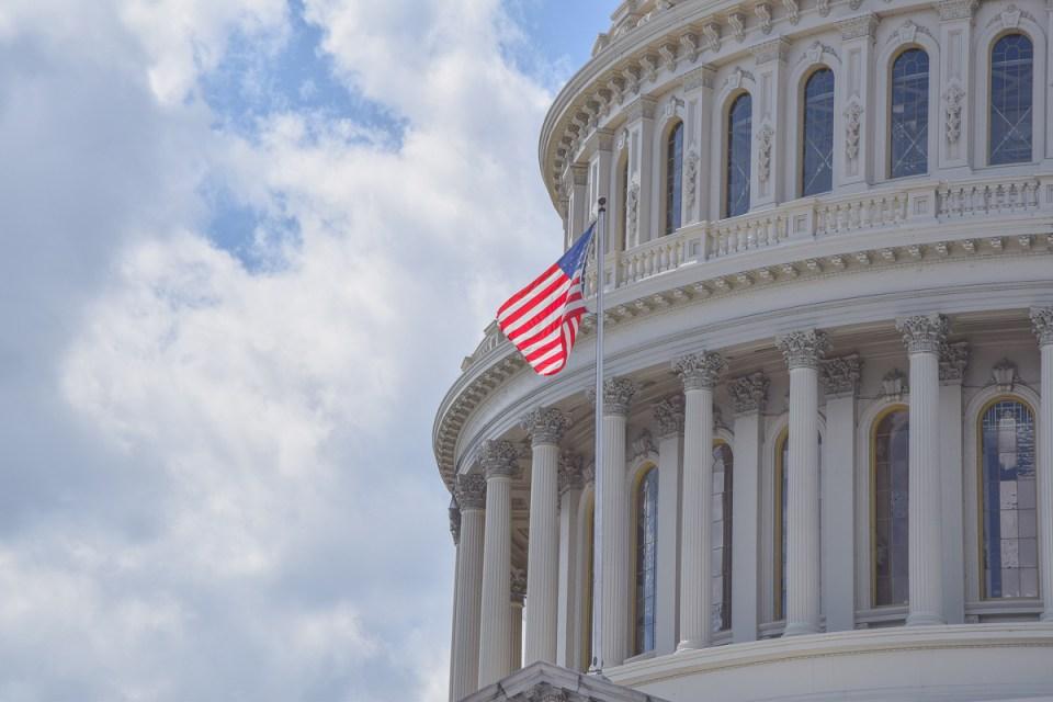 Das US Capitol gehört zu beliebtesten Washington DC Sehenswürdigkeiten